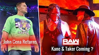 John Cena RETURNS to JOIN Lashley ! Kane & Taker Coming ? WWE Raw 1 October 2018 Highlights 10/1/18