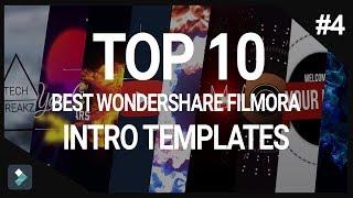Top 10 Best Wondershare Filmora Intro Templates #4 + Free Download