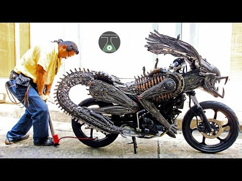 10 WEIRDEST & STRANGEST MOTORCYCLES WHICH ACTUALLY EXIST!