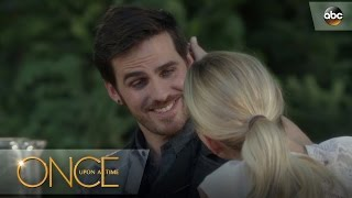 Emma Asks Hook to Move In - Once Upon a Time