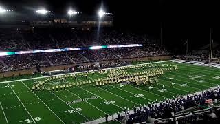 2019 2020 Spartan Legion Blessing The Inauguration ODU New Stadium, Rear View 👏🏽