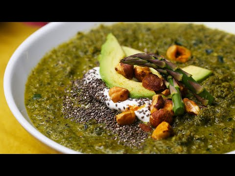 How to Make a Healthy And Hearty Green Super Soup Recipe ? Tasty