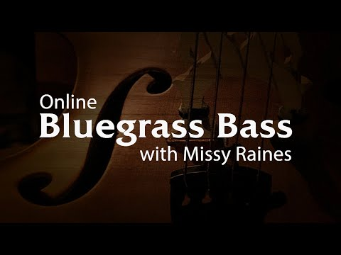Bluegrass Bass Lessons with Missy Raines - Promo
