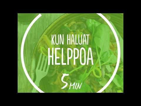 APETIT Tuorekset - terveellinen ruoka 5 minuutissa