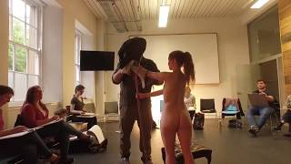 Life Drawing with Nudes & Birds at Whitespace in Edinburgh