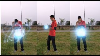 Veja vídeo com efeitos especiais - After effects