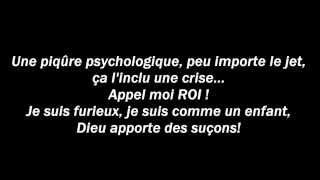 Denace, Sorry, Traduction Française