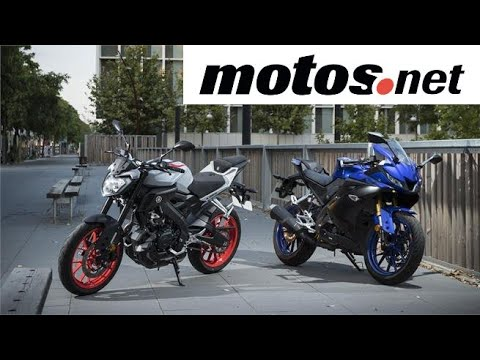 Comparativo Yamaha YZF-R125 vs MT125 / Prueba / Preview en español