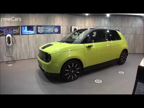 The new HONDA E car 2020