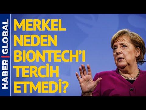 Alman Merkel Neden Biontech Olmadı? İşte Onun Tercihi!