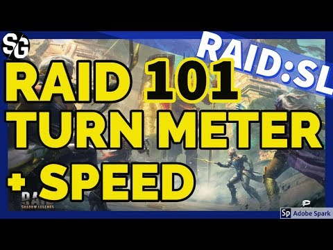 [RAID SHADOW LEGENDS] TURN METER & SPEED VIDEO OF A P. VIDEO