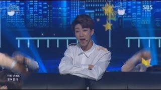 [인기가요] 160522 SEVENTEEN 세븐틴 - Pretty U 예쁘다 SBS Inkigayo