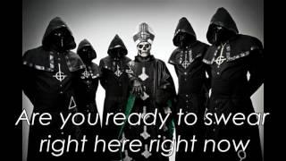GHOST B.C. Square Hammer lyrics video