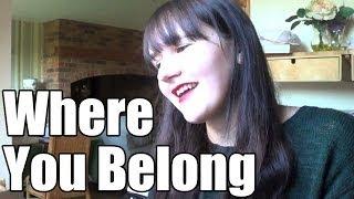 WHERE YOU BELONG BY KARI KIMMEL (COVER)