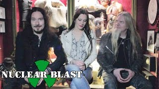 NIGHTWISH - Tuomas, Floor & Marco on the artwork for their new album (TERRORIZER EXCLUSIVE)