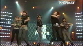 [K-Chart] 6. [▲19] Huh - 4minute (2010.6.4 / Music Bank Live)