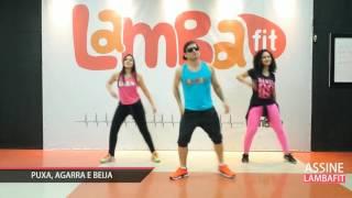 Turma do Pagode feat. Aviões do Forró - Puxa Agarra e Beija - Coreografia Lambafit - Aula
