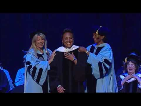Robin Roberts receives Honoray Degree - 2016 CNR Commencement