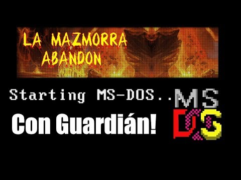 MSDOS GAMES BY MAZMORRA ABANDON