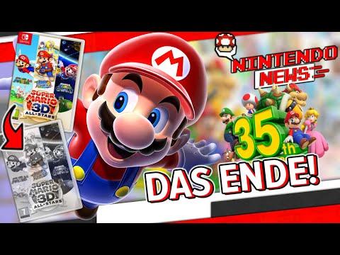 Marios Geburtstag geht in die Verabschiedung! / Gewinnt hochwertige Switch-Kopfhörer! - NintendoNews