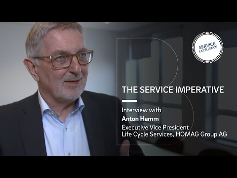 The Service Imperative   Interview with Anton Hamm, HOMAG Group AG