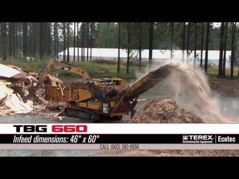 TBG 660 (CBI 6400T) Grinding Waste Wood