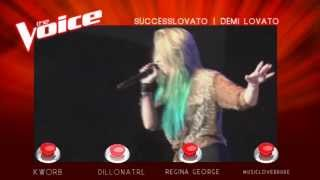 The Voice Of ATRL - Blind Auditions - Demi Lovato