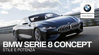 BMW Serie 8 Concept: stile e potenza come non li avete mai visti.