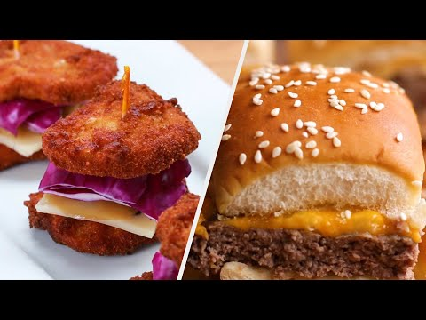 Mouth-Watering Slider Recipes To Serve To Your Friends ? Tasty
