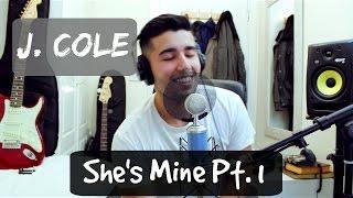 She's Mine Pt. 1 by J. Cole   Five Filo Cover