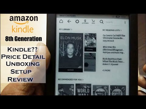 Download thumbnail for All New Kindle 8th Gen Starter Pack Unboxing