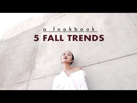 5 Fall Trends | A Lookbook