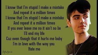 Nico Collins - Hate Me (Lyrics) 🎵