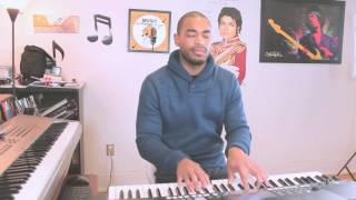 PLAYING PIANO OVER A DRUM LOOP- Anthony A-Major Russell