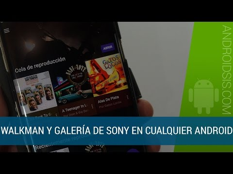 Descargar Walkman y galería de los nuevos Sony Xperia XZ