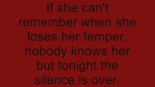 Bully by Three Days Grace (Lyrics)