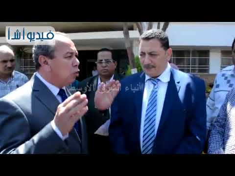 بالفيديو: محافظ دمياط يتفقد أعمال النظافه بالمدينه