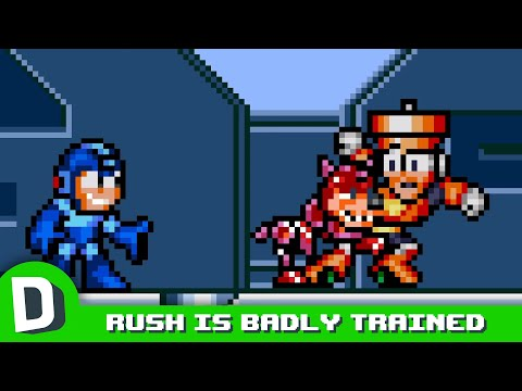 If Mega Man's Rush Acted Like a Regular Dog