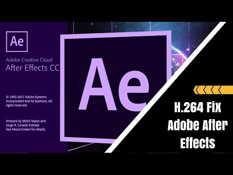 How to Exprot in H.264 - After Effects CC