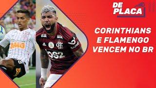 Vitórias de Flamengo e Corinthians e Santos novo líder do Brasileirão | De Placa (29/07/2019)