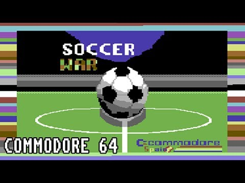 Soccer War - Gameplay - Commodore 64 - Seuck