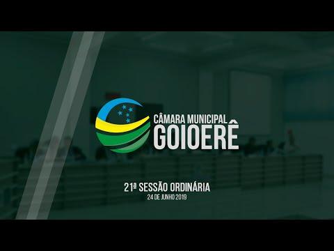 Vídeo na íntegra da Sessão Ordinária da Câmara Municipal de Goioerê dessa segunda-feira, 24