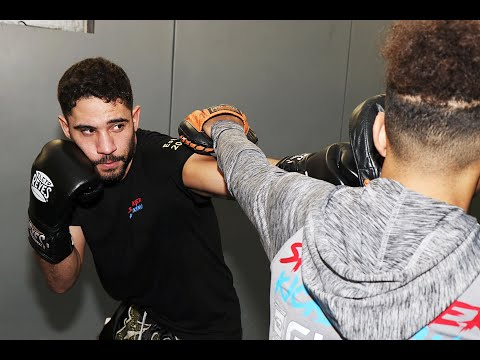 Kickboxing Flow Drill for Boxing Attacks and Evasion with Luke Whelan