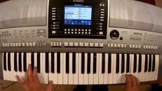 Adam Lambert - Ghost Town - piano keyboard synth cover by LIVE DJ FLO