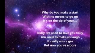 Ruby Blue - Sleeping At Last (Lyrics)
