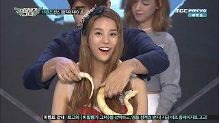 Kpop Idols vs Snake