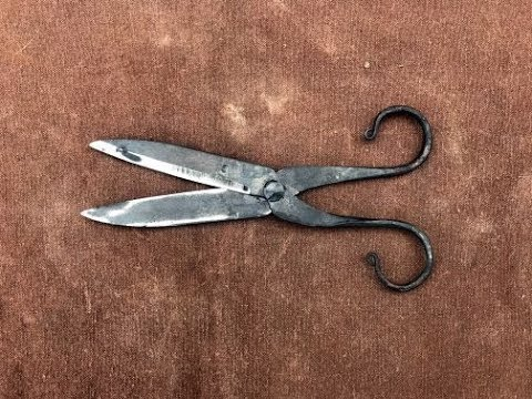 Forged Scissors Part 1
