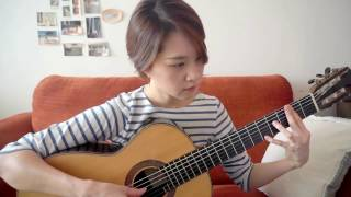 Bread - If - Yenne Lee - classical guitar cover (fingerstyle) - 클래식기타 이예은