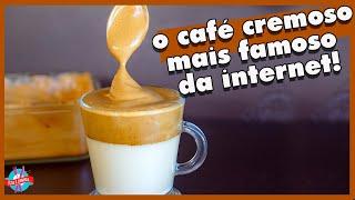 CAFÉ CREMOSO COM APENAS 03 INGREDIENTES | ISSO É COMIDA