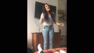 Somewhere Over the Rainbow Eva Cassidy Cover by Chloe Francis